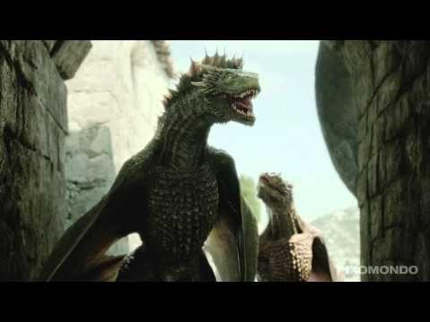 Vídeo revela como os dragões de Game of Thrones são criados. O estúdio de animação gráfica Pixomondo resolveu mostrar um pouco do seu trabalho e divulgou esse vídeo que mostra como os dragões Rhaegal, Drogon e Viserion, da série 'Game Of Thrones', foram feitos.