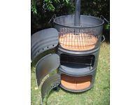 Vendo parrilla/horno tambor vertical,  3 en uno ,  Soy fabricante en San Luis cap. ,única por su calidad , diseño y precio . Pintada en su...111822480