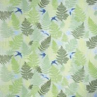 Fern oilcloth - green - Design by Susanne Schjerning