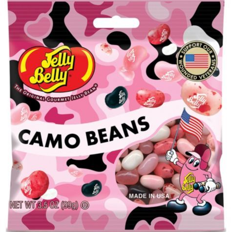 Pink Camo Jelly Beans - Novelty Candy Favors - Candy - Birthday Party Favors - Birthday Party Supplies - Categories - Party City