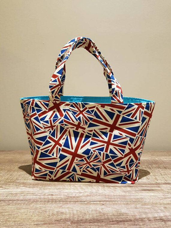 Check out this item in my Etsy shop https://www.etsy.com/au/listing/276060488/small-union-jack-fabric-tote-style-bag