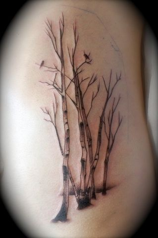 birch tattoo - Google zoeken