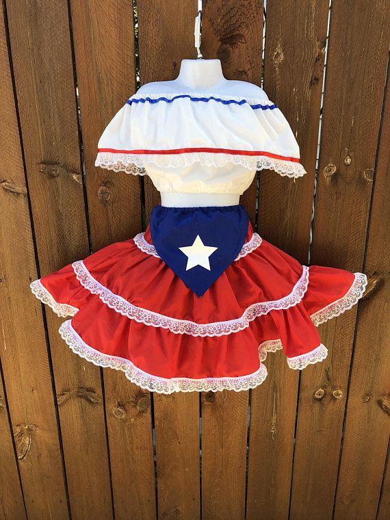 727435647 Puerto Rican Baby Dress, Baby Plena & Bomba Outfit, Authentic Puerto Rican Girl  Outfit, Girl Fiesta Party, Off Shoulders Puerto Rican Parade
