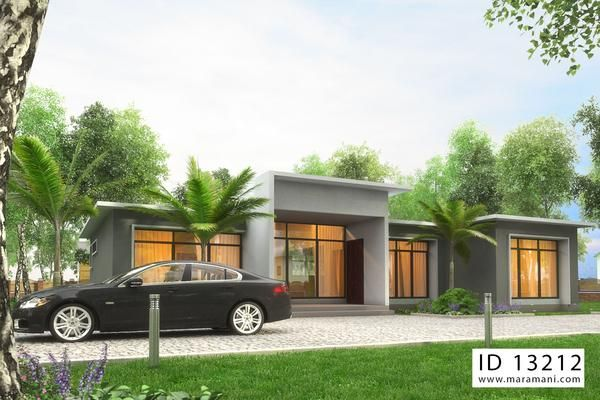 3 Bedroom Building Plan Id 13212 In 2019 House Designs By