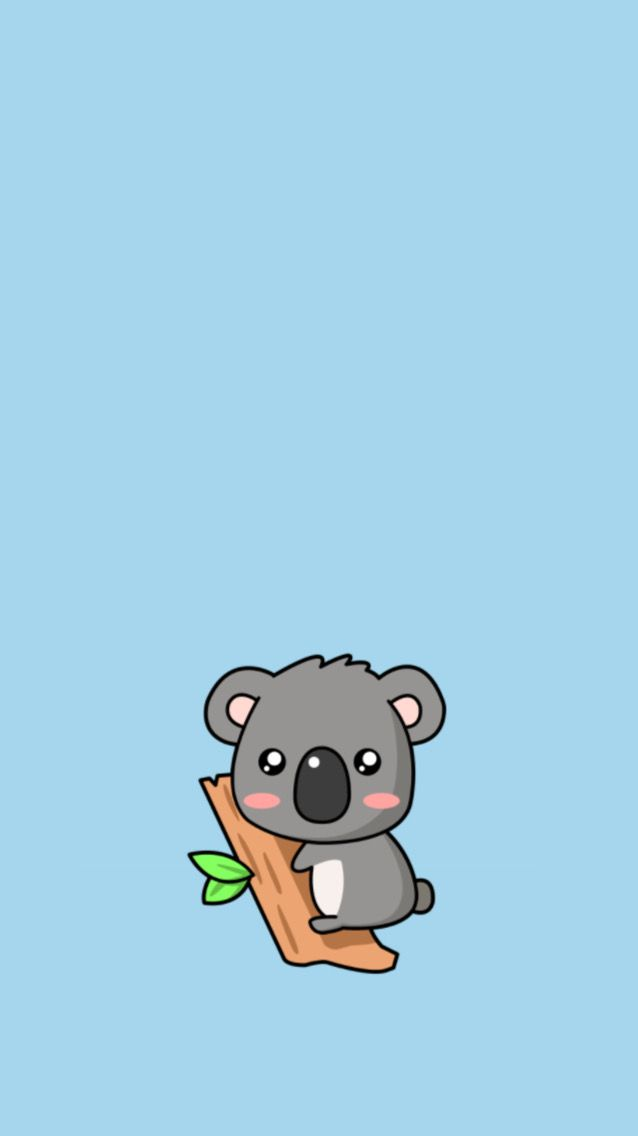 Koala Wallpaper Pandalar Sevimli Karikatur Karikatur