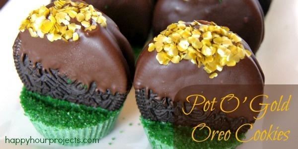 Pot O' Gold Oreo Cookies