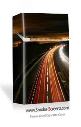 The Highway - a cigarette case design for the overnight Trucker maybe? Anything is possible at www.smoke-screenz.com