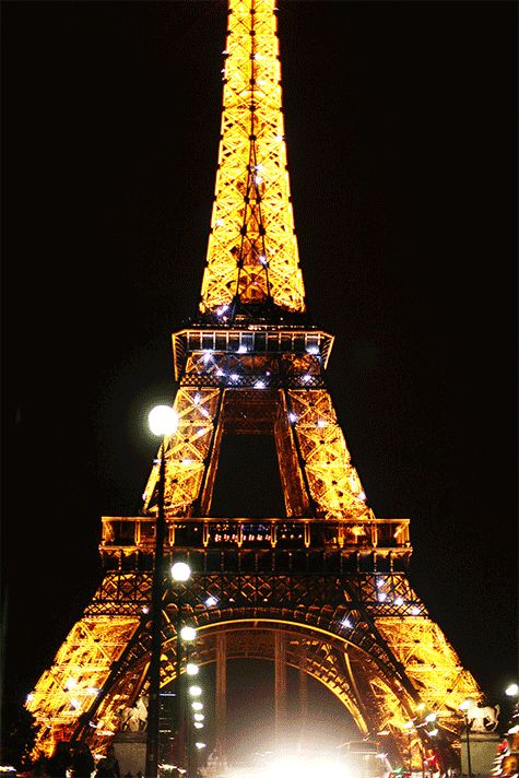 Paris, France: The Tour Eiffel up in lights, for your Bastille Day!