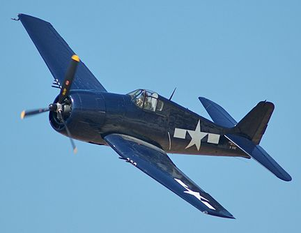grumman f6f hellcat - very bad news for Japanese Zero pilots in later stages of the war in the Pacific.