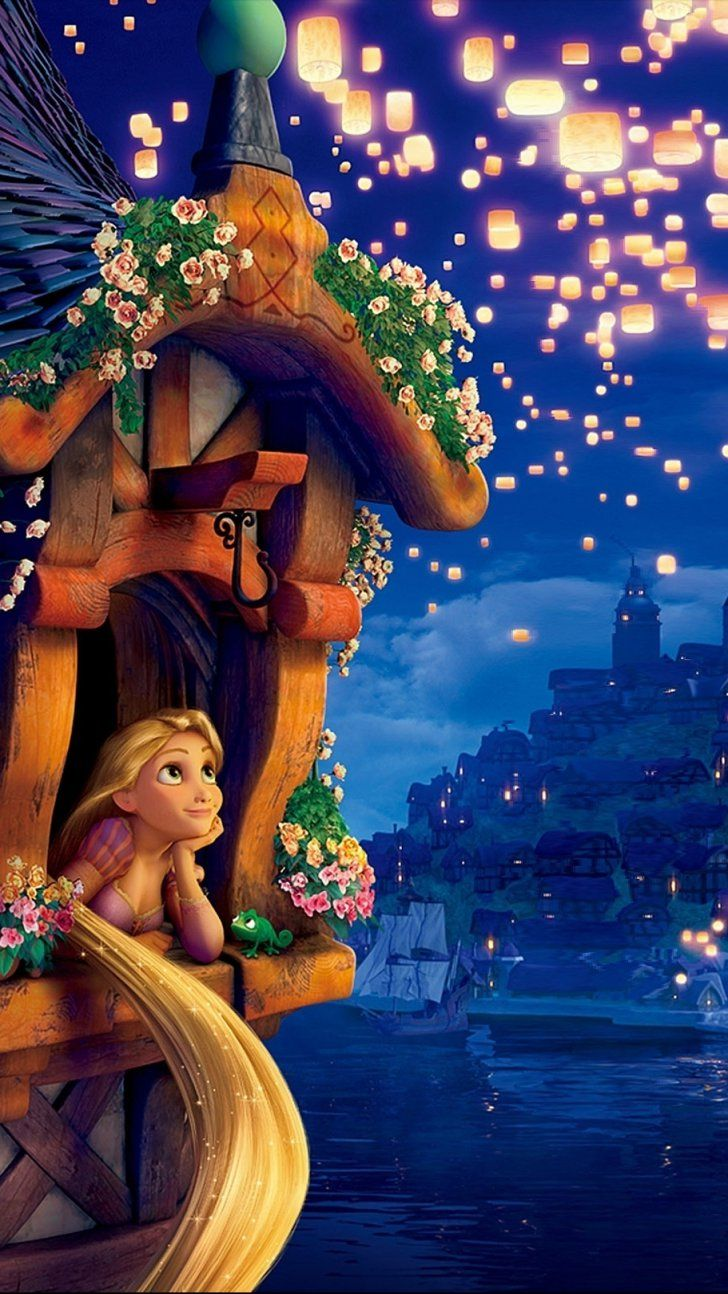 Pin for Later: 33 Magical Disney Wallpapers For Your Phone Tangled