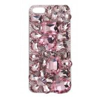 Pink Jeweled iPhone 5 Case from jessiesteele.com