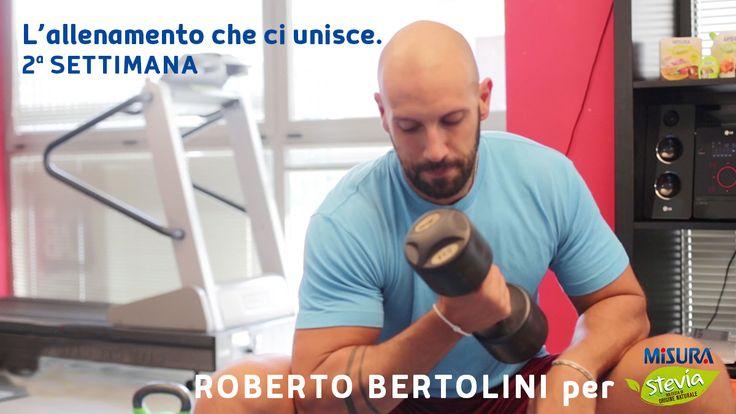 """Pronti con la seconda settimana de """"L'allenamento che ci unisce""""? Andiamo! http://bit.ly/2pcRRe0  #gym #workout #Motivation #wellness"""