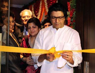 Honourable Shri.Raj Thackeray inaugurates Veena World's first branch office at Kandivali
