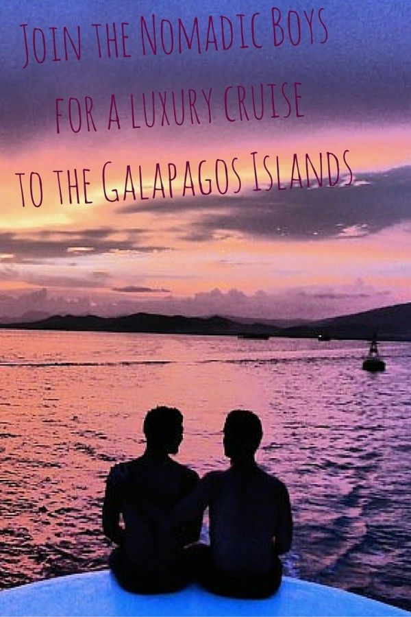 Join the Nomadic Boys for a luxury gay cruise to the Galapagos islands. Click here to find out more.