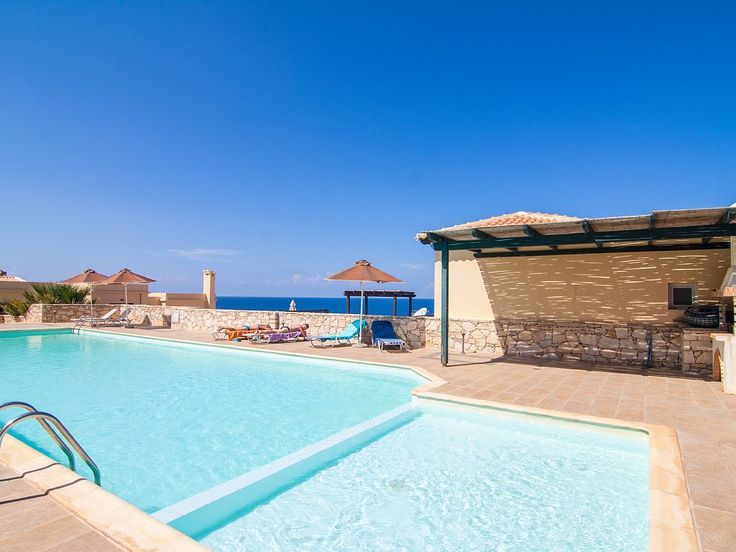 Panormos apartment rental - The pool has a special, shallow compartment, designed for children!