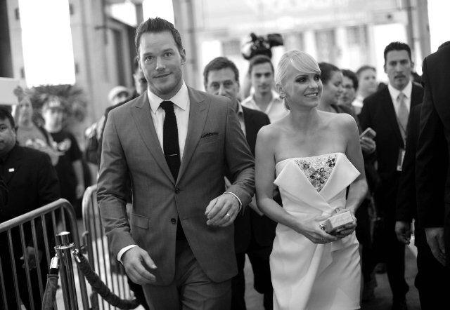 Chris Pratt and his wife Anna Faris