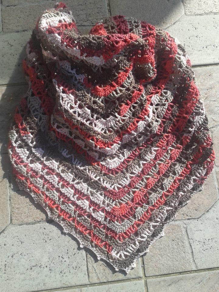 crochet shawls- Alize diva