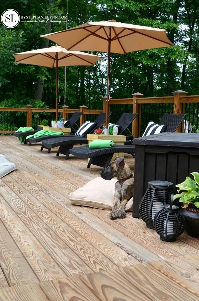 Pool Deck Decor | Easy Summer Outdoor Entertaining Tips