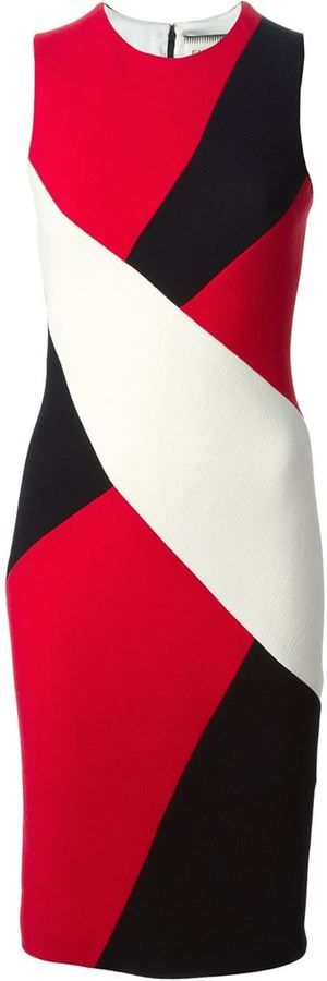 Shop for color block fitted dress by Fausto Puglisi at ShopStyle. Now for Sold Out.