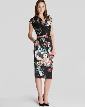 Ted Baker Dress - Robyne Oil Painting Print