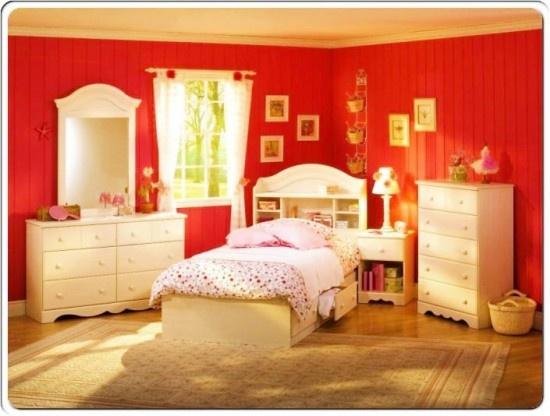 Interesting White Bedroom Furniture For Girls Throughout Design