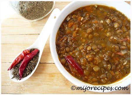 Enjoy this mauritian lentil soup recipe!