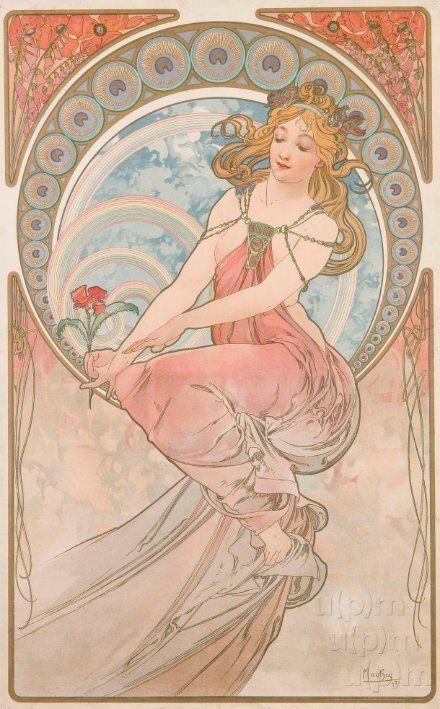 Peinture by Alphonse Mucha, 1898. www.esbirky.cz, CC0
