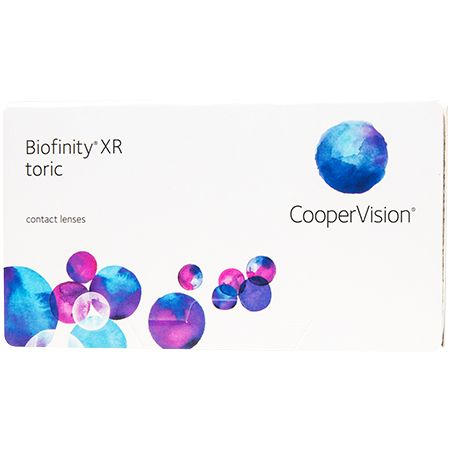 Biofinity XR Toric Contact Lenses: Bioinfinity XR Toric lens material is highly breathable, which allows greater levels of oxygen to freely…