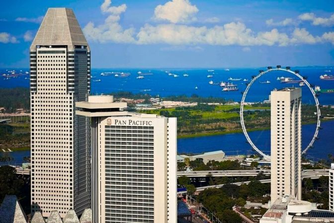 SINGAPORE: En utrolig arkitektur, charmende personale og en kulinarisk oplevelse. Det møder du, når du bor på det nyrenoverede hotel Pan Pacific i Singapore. #ferie #rejser