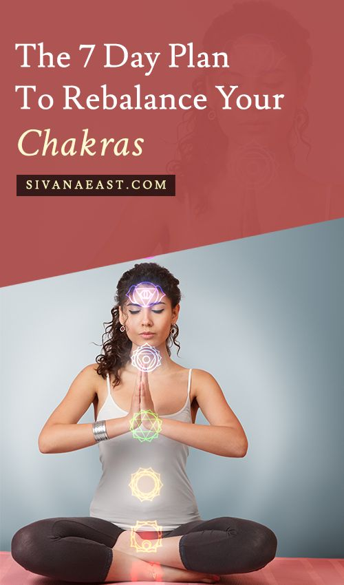 The 7 Day Plan To Rebalance Your Chakras