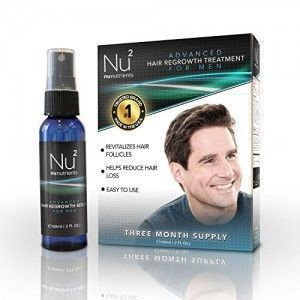 NuNutrients advanced hair regrowth treatment. http://www.buythebest10.com/top-10-best-hair-loss-treatment-products-for-men-reviews/ #HairLossRemedyforMen