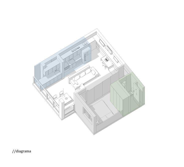 Galeria de Apartamento Cazo / Estúdio BRA - 12