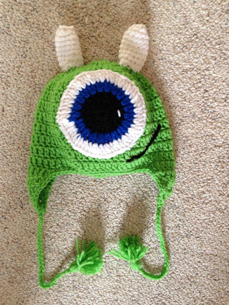👾 Monstro Chapéu Crochê -  /  👾 Monster Hat Crocheting -
