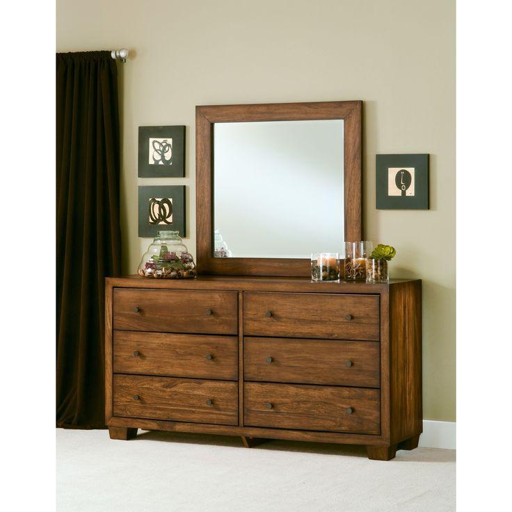Angelo Homechelsea Park Solid Wood Dresser Brown