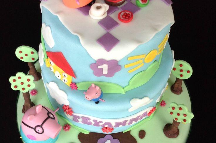 Torta de cumpleaños Peppa pig
