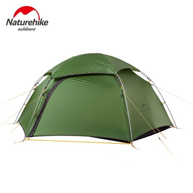 NatureHike Ultralight Camping Two Person tent Outdoor Double Layer Tent Only 2.5kg NH17K240-Y