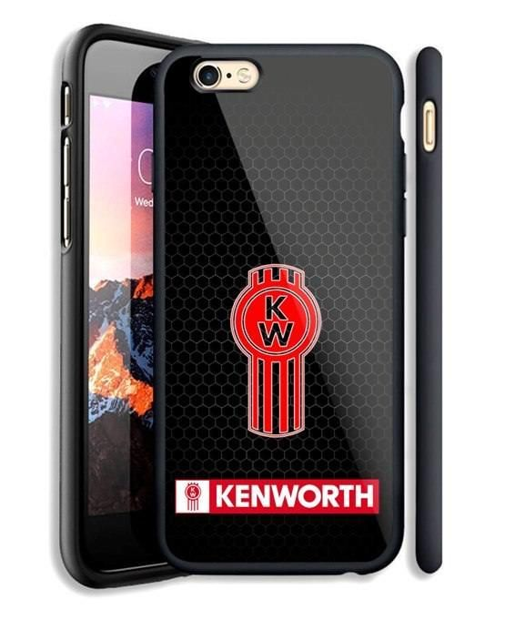 best sneakers b6c49 1f378 Details about Kenworth Black Grill Logo Automotive iPhone 6 6s 7 8 X ...