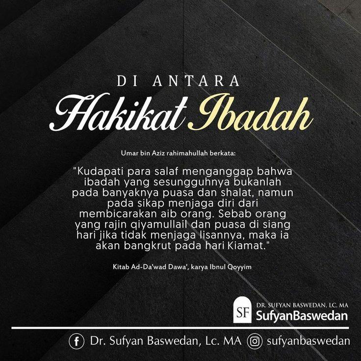 Follow @NasihatSahabatCom http://nasihatsahabat.com #nasihatsahabat #mutiarasunnah #motivasiIslami #petuahulama #hadist #hadits #nasihatulama #fatwaulama #akhlak #akhlaq #sunnah #aqidah #salafiyah #Muslimah #adabIslami #ManhajSalaf #Alhaq #dakwahsunnah #Islam #ahlussunnah #tauhid #dakwahtauhid #Alquran #kajiansunnah #salafy #Kajiansalaf #hakikatibadah #hakekatibadah #jagalahlisanmu #bangkrutpadahariKiamat #jagadiri #bicarakanaiboranglain #akhlakburuk #adabakhlak #aiboranglain #ghibah…