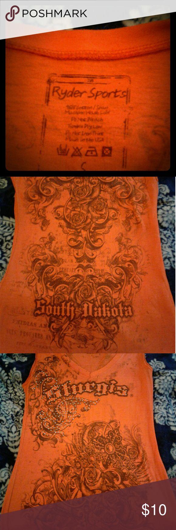 2013 sturgis south Dakota shirt 2013 sturgis south dakota bike rally shirt ryder sports Tops Tank Tops