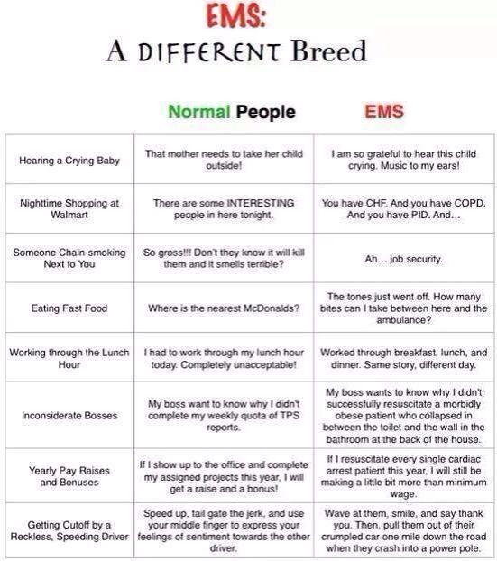 Best Ems Images On   Ems Humor Emergency Medical