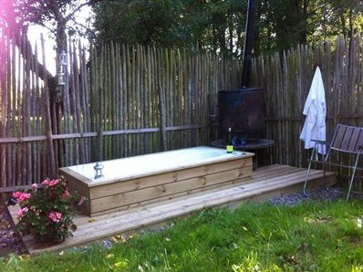 Badkar badkar ute : 1000+ images about Ute bad-spa on Pinterest | Gardens, Pools and ...