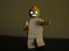 How to hack LEDs into Lego minifigures for Halloween | Evil Mad Scientist Laboratories