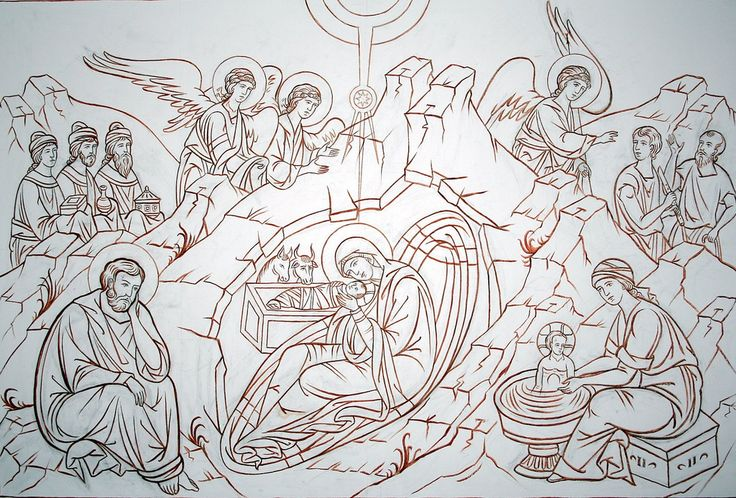 https://flic.kr/p/9paTLQ | Sketch: Nativity of Christ