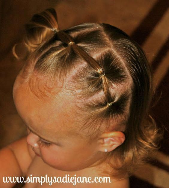 Short Female Hairstyles | Little Girl Buns | Little Girl Hairstyles Short Curly …