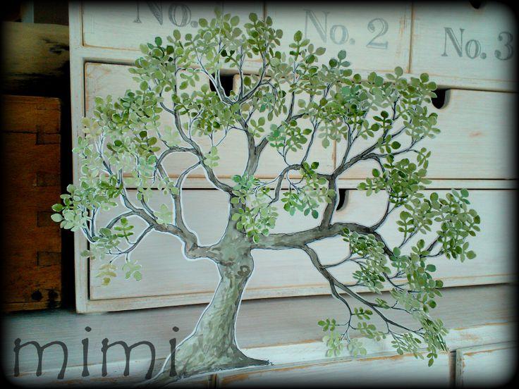 drzewo z liśćmi