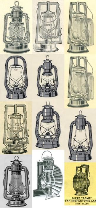 yes i'd like a collection of old lanterns for my  home and camping trips.