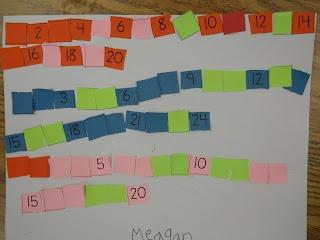 mrs t s first grade class math