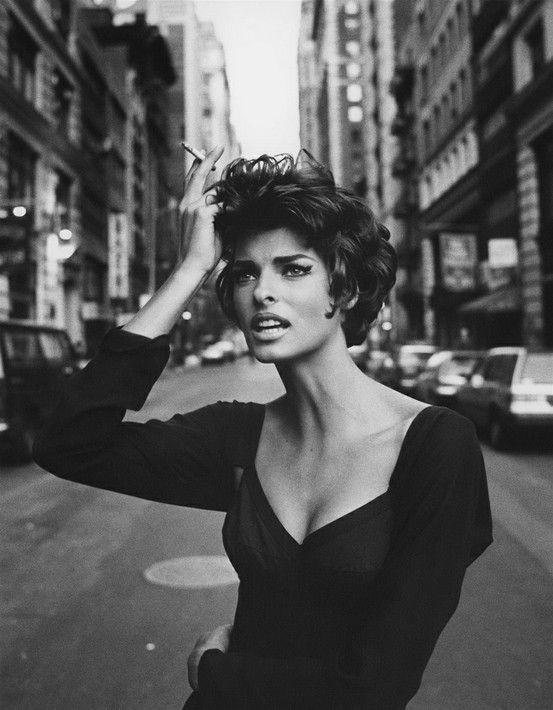 Linda Evangelista by Helmut Newton