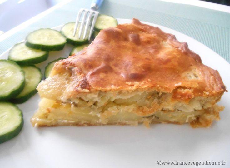 Pâté bourbonnais (tourte aux pommes de terre) (vegan)