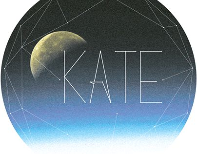 """Check out new work on my @Behance portfolio: """"Kate constellation"""" http://on.be.net/1IncRPN"""